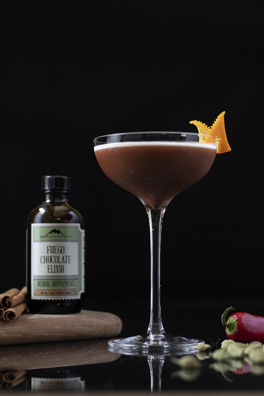 chocolate fuego espressotini