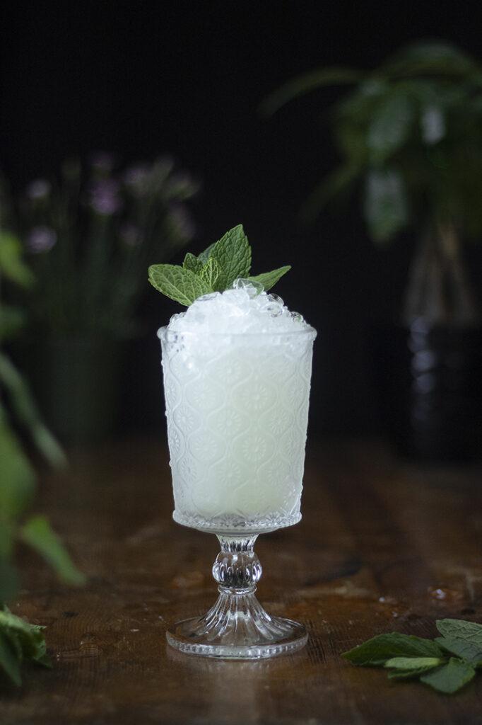 absinthe-frappe-with-mint-garnish