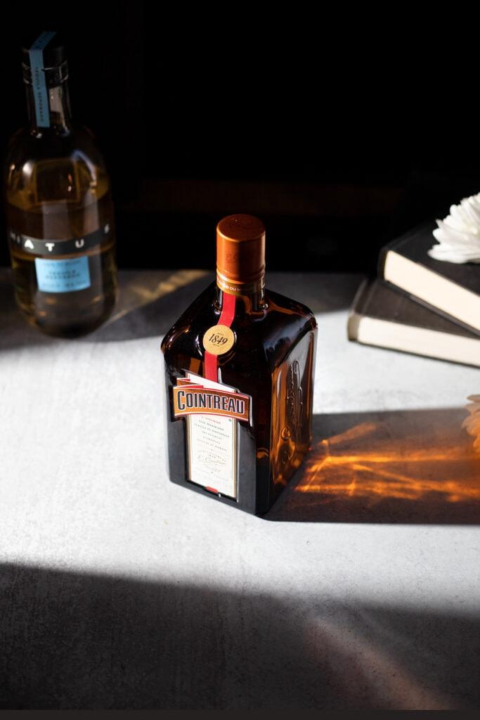 cointreau orange liqueur and hiatus reposado